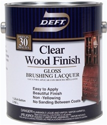 Deft Clear Wood Finish